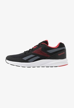 RUNNER 4.0 - Obuwie do biegania treningowe - black/true grey/exclusiv red