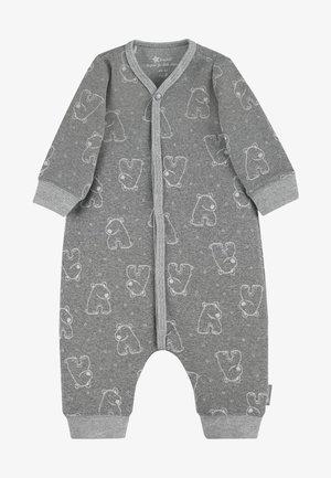 Baby's sleeping bag - silber melange