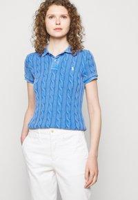 Polo Ralph Lauren - CABLE - Poloshirt - keel blue - 4
