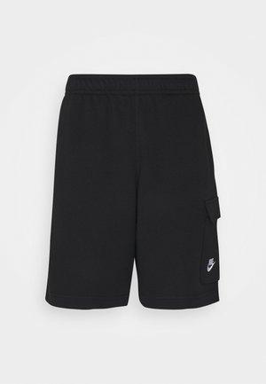 CLUB CARGO - Shorts - black/white