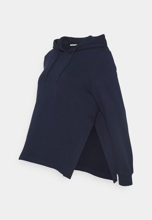 NURSING HOODIE WITH SLIT - Jersey con capucha - dark blue