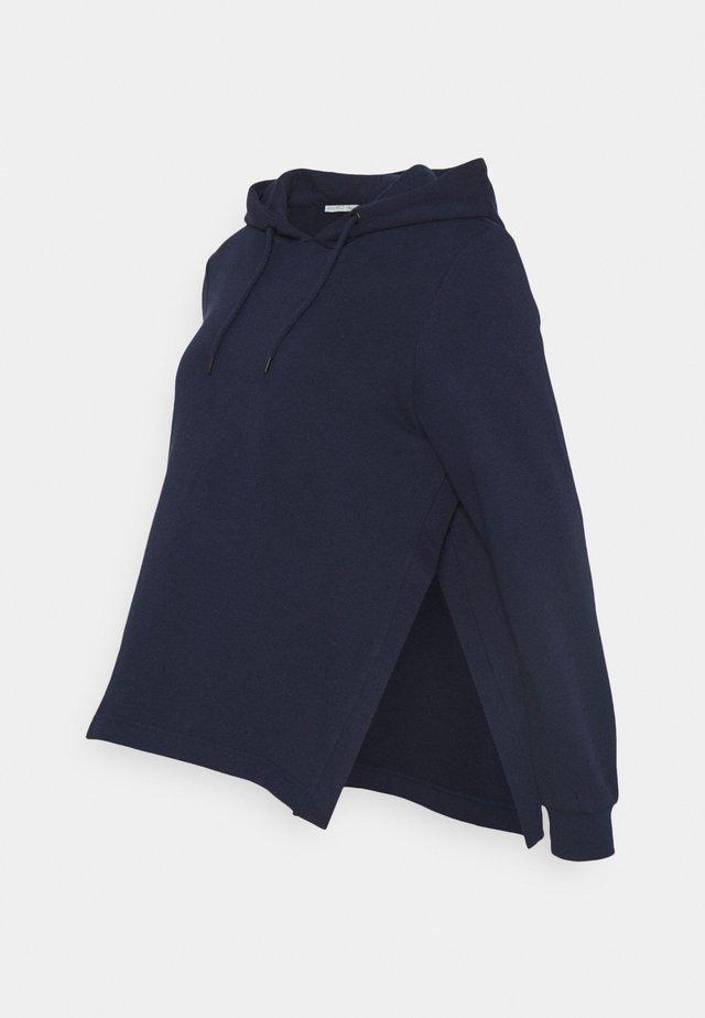 NURSING HOODIE WITH SLIT - Sweat à capuche - dark blue