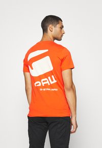 G-Star - BIG LOGO BACK  - T-shirt print - bright acid - 2