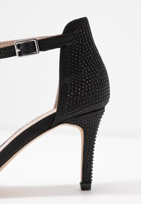 Dorothy Perkins - BESSIE HEATSEAL 2 PART  - Sandals - black - 2