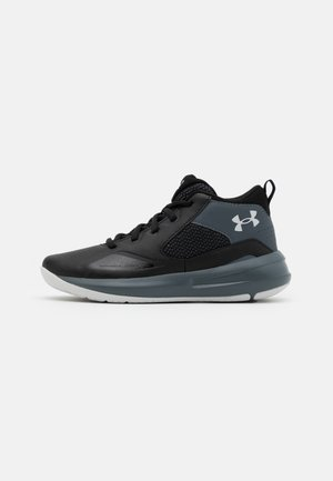 LOCKDOWN 5 UNISEX - Basketball shoes - black