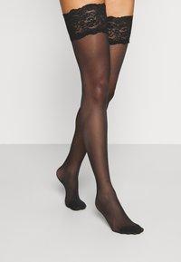 DIM - UP SEDUCTIONSEXY - Over-the-knee socks - black - 2