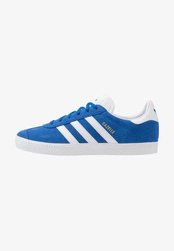 GAZELLE - Trainers - blue/footwear white/gold metallic