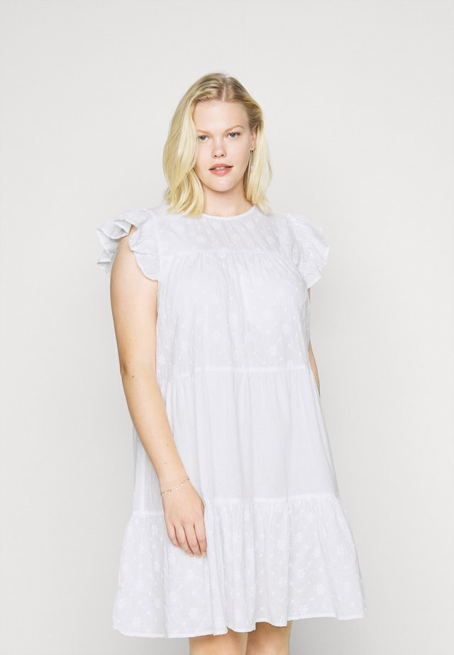 JRDAISY ABOVE KNEE DRESS  - Kjole - snow white