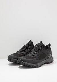 The North Face - Hiking shoes - black/zinc grey - 2
