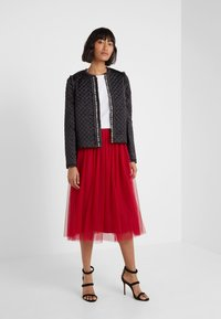 Needle & Thread - DOTTED SKIRT - A-line skirt - deep red - 1
