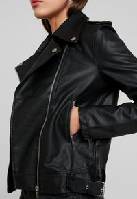 Even&Odd - Faux leather jacket - black - 5