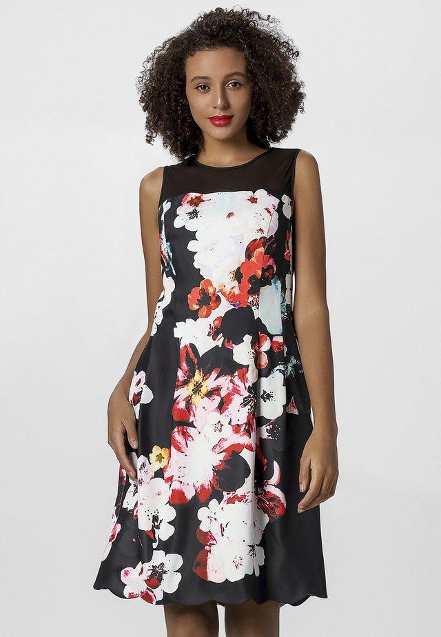 Vestito elegante - black/multicolor