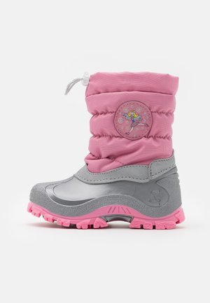 FAIRY - Winter boots - pink/grey