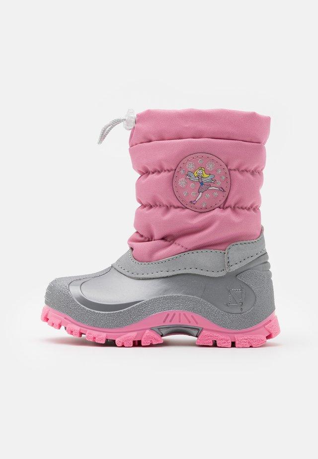 FAIRY - Vinterstövlar - pink/grey