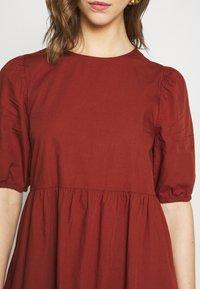 Pieces - PCPARSLEY  - Day dress - dark brown - 5