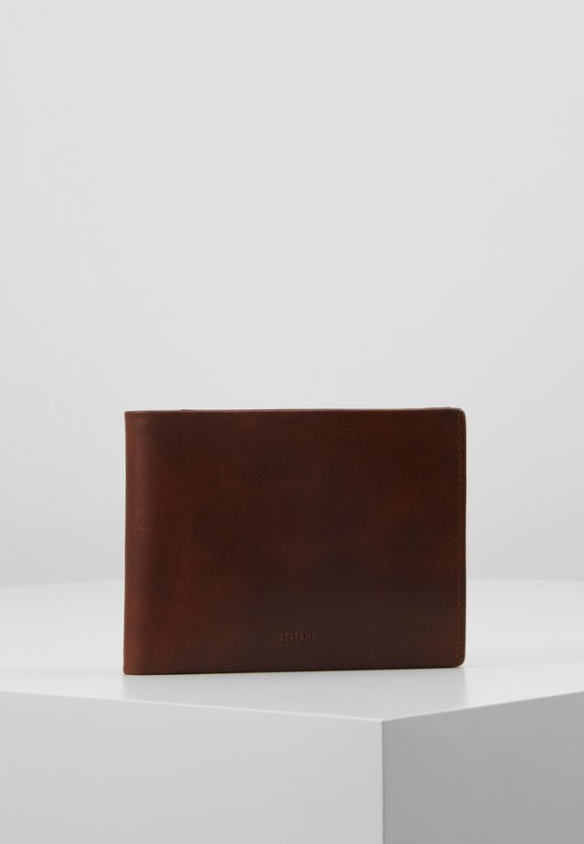 LORETO TYPHON BILLFOLD - Geldbörse - darkbrown