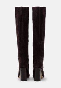 MICHAEL Michael Kors - LEIGH BOOT - Vysoká obuv - chocolate - 3