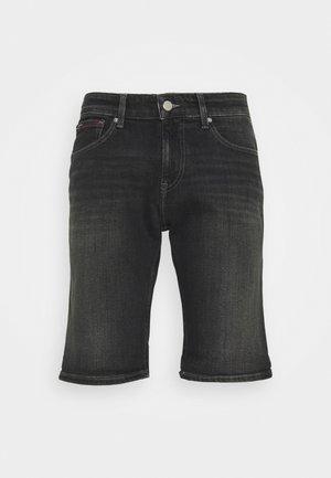 SCANTON SLIM - Jeansshorts - denim black