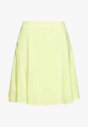 DIDO SKIRT - A-line skirt - gelb
