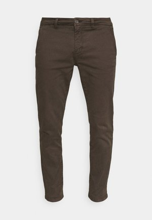 ONSPETE LIFE SLIM  - Chino kalhoty - slate black