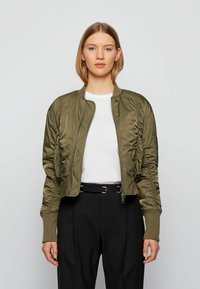 BOSS - Bomber Jacket - khaki - 1