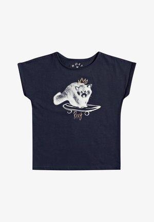 BOYFRIEND - Print T-shirt - mood indigo
