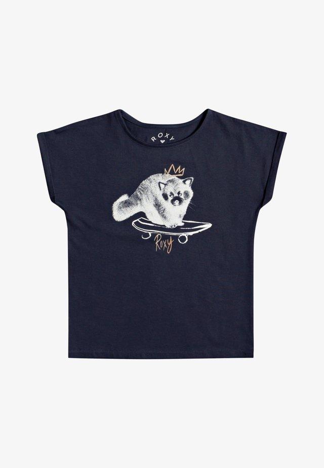 BOYFRIEND - T-shirt print - mood indigo
