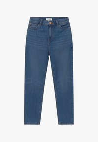 Lindex - MOM MADISON - Relaxed fit jeans - dark denim - 2
