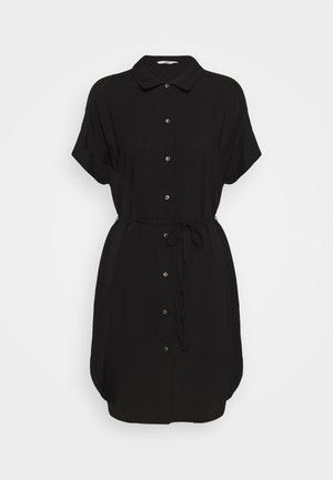 ONLNOVA LIFE SHIRT DRESS SOLID - Abito a camicia - black