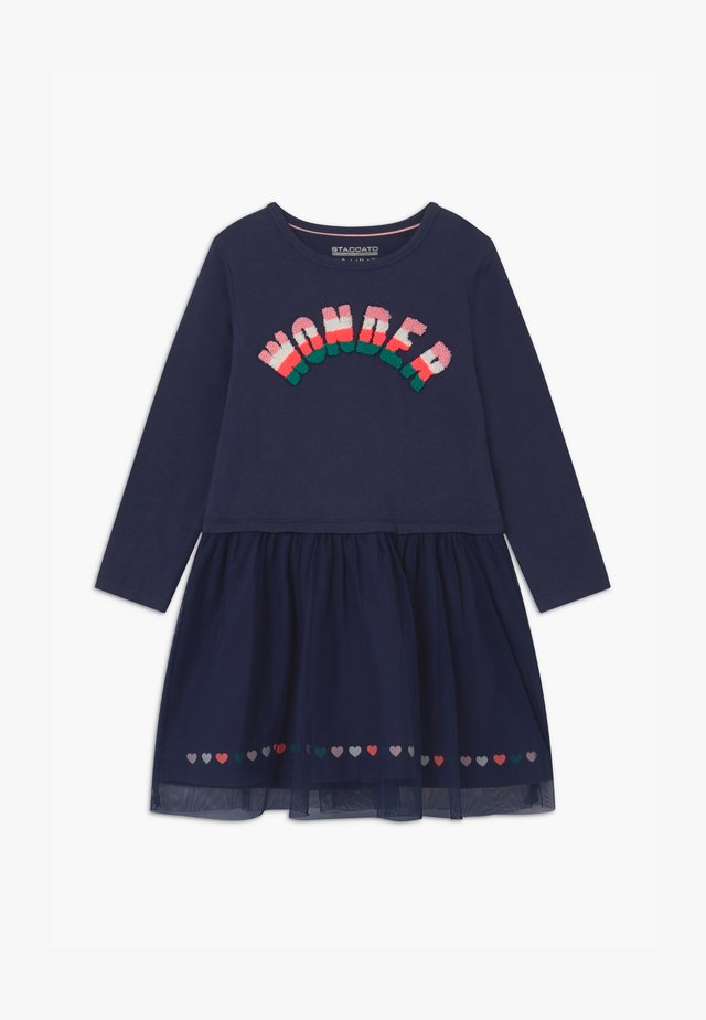 KID - Jersey dress - deep tinte