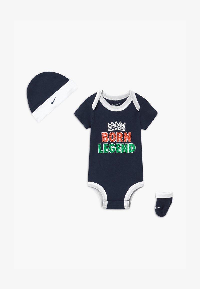 Nike Sportswear - BORN LEGEND UNISEX SET - Dárky pro nejmenší - midnight navy