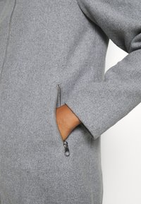 Vero Moda - VMCOLLARYORK COLLAR JACKET - Classic coat - light grey melange - 6