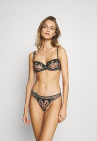 Passionata - NIGHTS - Balconette bra - gris intense - 0