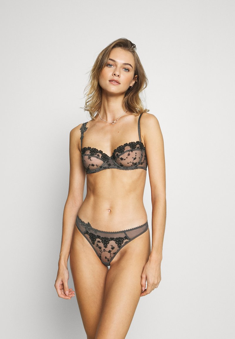 Passionata - NIGHTS - Balconette bra - gris intense