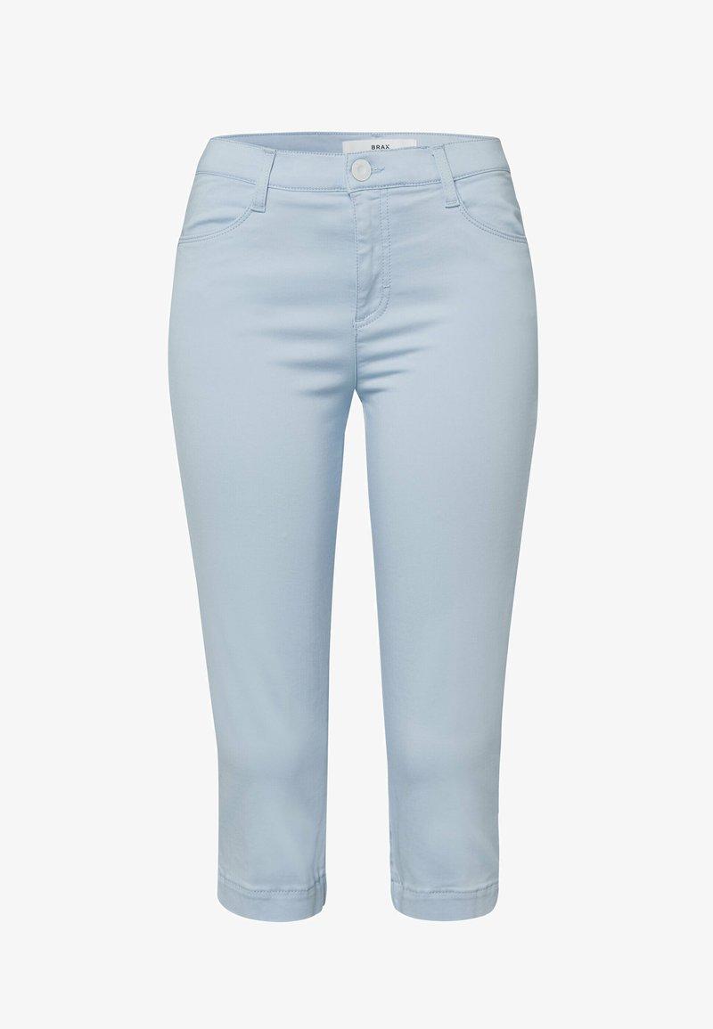 BRAX - Denim shorts - sky blue