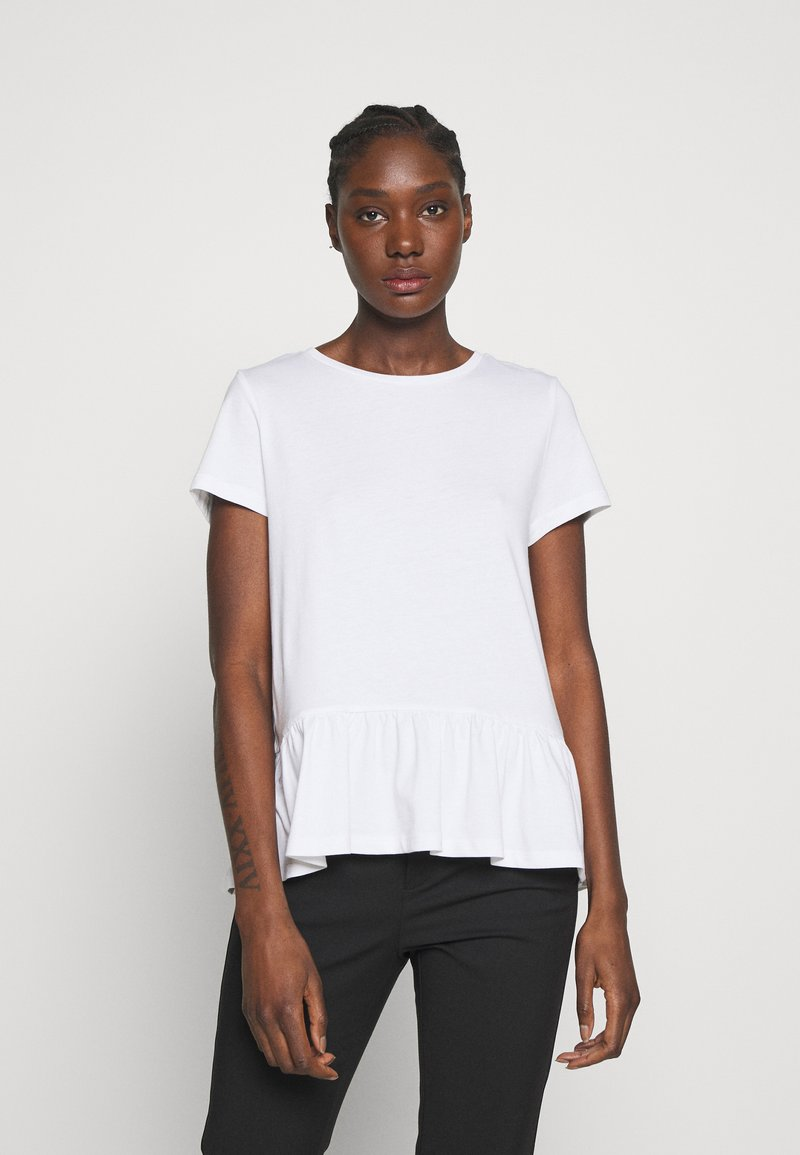 Esprit - T-shirts med print - white
