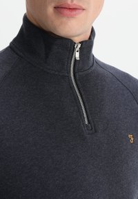 Farah - JIM ZIP - Sweatshirt - true navy marl - 3