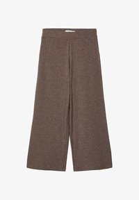 Name it - MIT WEITEM BEIN 7/8-LANGE GERIPPTE - Broek - deep taupe - 0