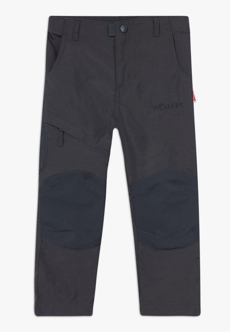 TrollKids - HAMMERFEST PRO SLIM FIT UNISEX - Outdoor trousers - dark grey