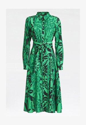 Shirt dress - vert multi