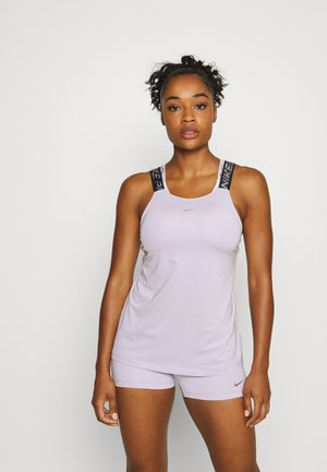 ELASTIKA TANK - Sports shirt - infinite lilac/black/metallic silver