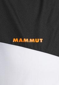 Mammut - CONVEY - Windbreaker - black/white - 2