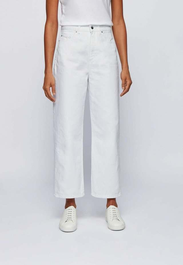 Relaxed fit jeans - natural