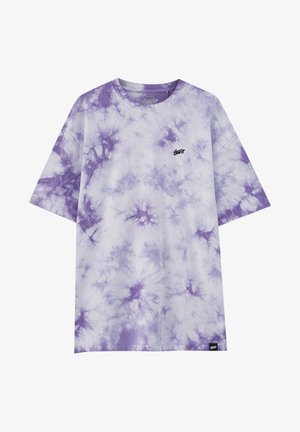 T-shirt con stampa - purple