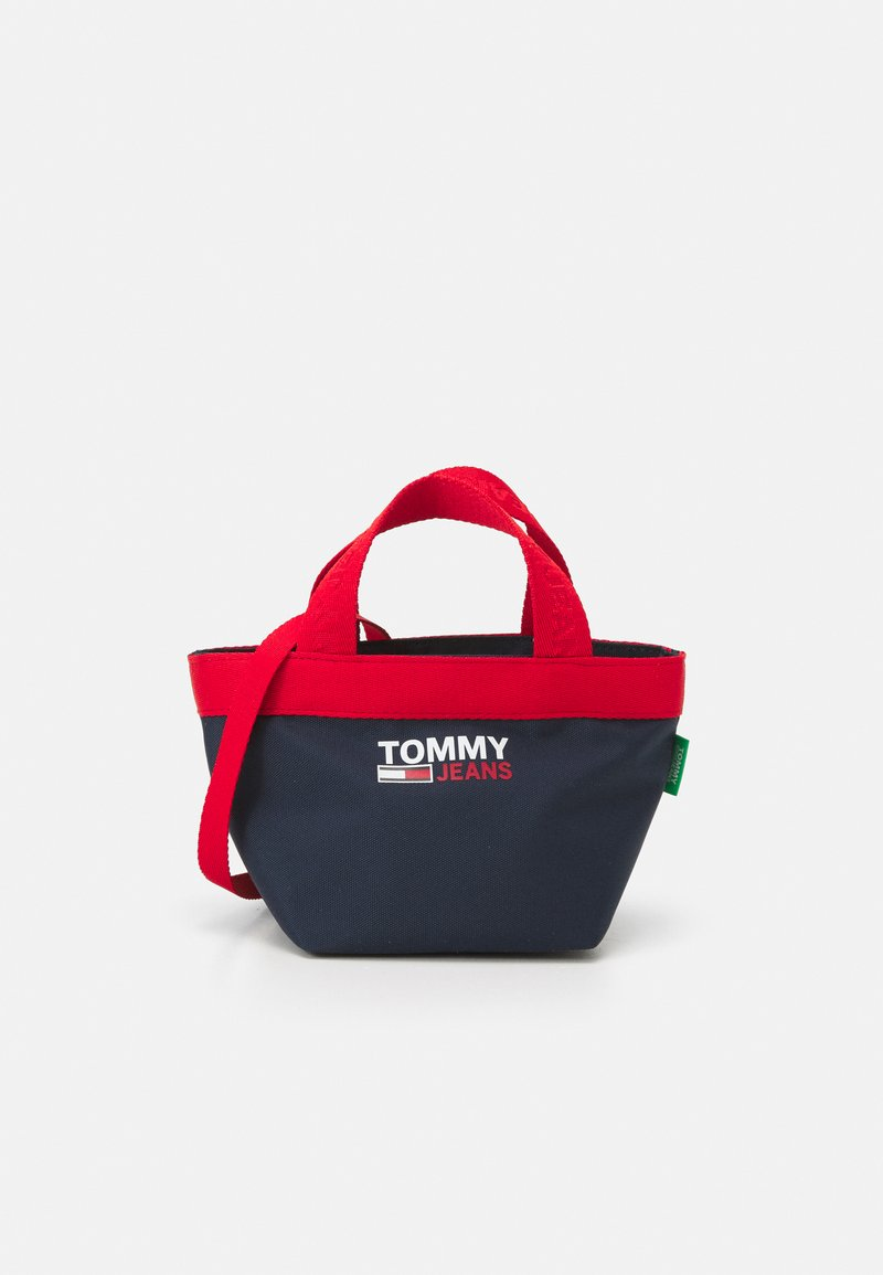 Tommy Jeans - CAMPUS MINI TOTE - Kabelka - blue