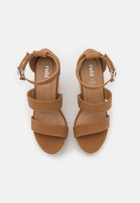 Rubi Shoes by Cotton On - BRADY WEDGE  - Platform sandals - tan - 5