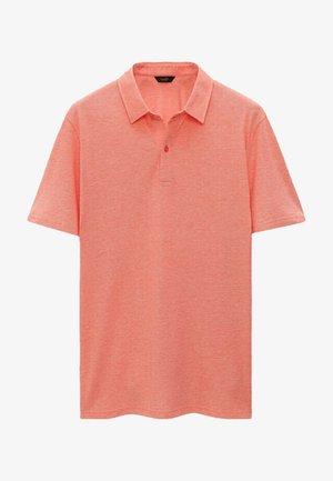 KURZÄRMELIGES OXFORD - Polo shirt - red