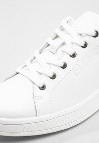Calvin Klein - SOLANGE - Trainers - white/gold - 2