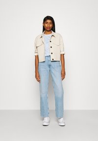 ONLY - ONLBONE LIFE TOP BOX - Print T-shirt - bright white - 1