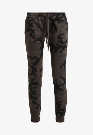 LADIES CAMO PANTS - Trousers - grey